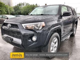 Used 2017 Toyota 4Runner SR5 SOFTEX  ROOF  NAVI  7 PASS for sale in Ottawa, ON