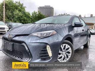 Used 2017 Toyota Corolla SE 6 SPD  SOFTEX/FABRIC SURFACES  HTD SEATS  BACKU for sale in Ottawa, ON