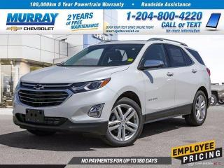 New 2020 Chevrolet Equinox Premier for sale in Winnipeg, MB