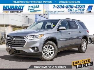 New 2020 Chevrolet Traverse LT Cloth for sale in Winnipeg, MB