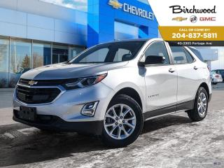 New 2020 Chevrolet Equinox LS Buy from Home with Birchwood! 0.49% Available! for sale in Winnipeg, MB