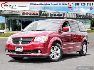 Used 2016 Dodge Grand Caravan Crew for sale in Cornwall, ON