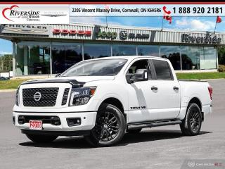 Used 2018 Nissan Titan Crew Cab SV 4X4 for sale in Cornwall, ON