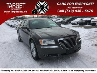 Used 2014 Chrysler 300 AWD, Leather. Sunroof!  Rear view camera for sale in London, ON