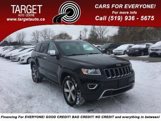 Used 2015 Jeep Grand Cherokee Sunroof- Leather! rear view reverse camera. for sale in London, ON