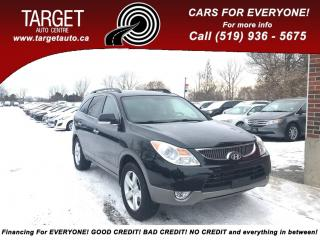 Used 2010 Hyundai Veracruz Limited- Leather! sunroof. Spoiler- Roof rack for sale in London, ON