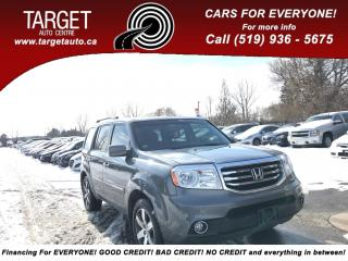 Used 2012 Honda Pilot Touring, Fully Loaded, Leather, Roof, Navi, BackUp for sale in London, ON