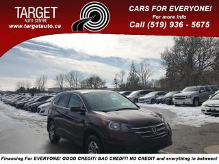 Used 2014 Honda CR-V LX, BackUp Camera, Remote Start, Drives Great, Ver for sale in London, ON