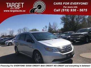 Used 2011 Honda Odyssey EX-L, DVD, BackUp Cam, Mint Condition, Drives Grea for sale in London, ON