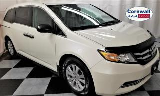 Used 2016 Honda Odyssey Clean Vehicle, Low KM for sale in Cornwall, ON