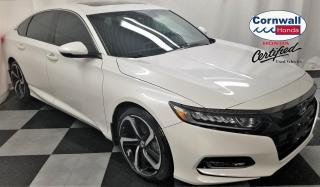 Used 2018 Honda Accord Sedan One Owner, CVT, Clean CarFax for sale in Cornwall, ON