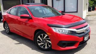 Used 2017 Honda Civic EX Honda Sensing Sedan CVT - BACK-UP/BLIND-SPOT CAM! SUNROOF! CAR PLAY! for sale in Kitchener, ON