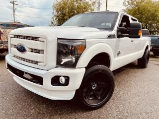 Used 2016 Ford F-350 Super Duty SRW LARIAT, FX4,4WD Crew Cab, NAV, SUNROOF, RIMS, LEAHTER & MORE for sale in Calgary, AB