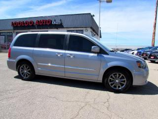 Used 2015 Chrysler Town & Country S DUAL DVD NAVIGATION CAMERA SLIDING DOOR CERTIFIED for sale in Milton, ON