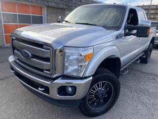 Used 2016 Ford F-350 Super Duty SRW LARIAT 4WD Crew Cab, SUNROOF, LEATHER, NAV, BACK UP CAM&more for sale in Calgary, AB