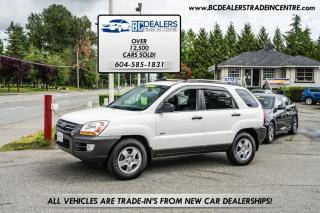 Used 2006 Kia Sportage LX V6 AWD, 194K, Leather Heated Seats, Alloys, Clean! for sale in Surrey, BC