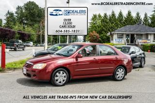 Used 2005 Kia Spectra LX Sedan, 4-Cylinder Auto, Power Group, Affordable! for sale in Surrey, BC