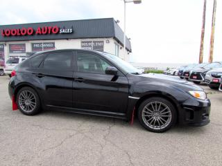 Used 2013 Subaru Impreza WRX WRX HATCHBACK LIMITED LEATHER SUNROOF CERTIFIED for sale in Milton, ON