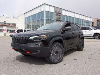 New 2020 Jeep Cherokee NAVI PANOROOF TOW PKG BLIND SPOT DETECTION for sale in Pickering, ON