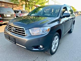 Used 2010 Toyota Highlander 4WD 4dr V6 Limited, 7 SEATER, LEATHER, SUNROOF for sale in North York, ON