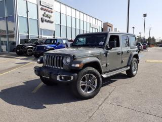 New 2020 Jeep Wrangler NAVI DUAL TOPS LEATHER HEATED SEATS for sale in Pickering, ON