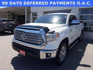 Used 2014 Toyota Tundra 4WD Double Cab 146 5.7L Limited for sale in North Bay, ON