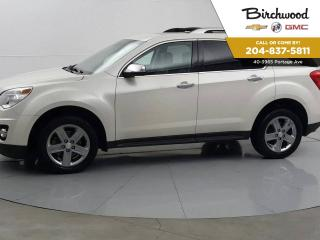Used 2014 Chevrolet Equinox LTZ AWD | Leather | Navigation | Sunroof for sale in Winnipeg, MB