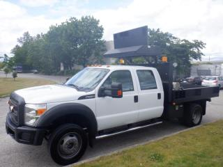 Used 2012 Ford F-550 Dump Truck Crew Cab Dually  2WD for sale in Burnaby, BC