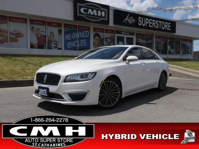 2017 Lincoln MKZ Select  NAV ROOF CAM BS HS P/SEATS