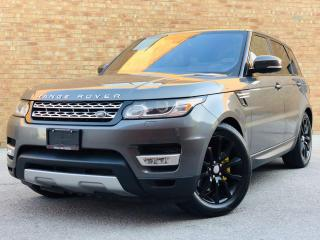 Used 2016 Land Rover Range Rover Sport HSE|CERTIFIED| NAVI|LEATHER|DIESEL|HEADSUP DISPLAY| for sale in Mississauga, ON