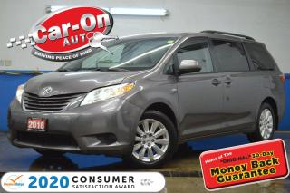 Used 2016 Toyota Sienna LE 7 Passenger AWD REAR CAM HTD SEATS FULL PWR GRO for sale in Ottawa, ON