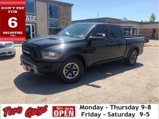 Used 2016 RAM 1500 Rebel Crew Cab 4x4 | Nav | Leather | for sale in St Catharines, ON