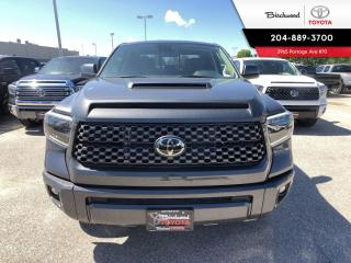 New 2020 Toyota Tundra 4x4 Double Cab DBL CAB SPORT for sale in Winnipeg, MB