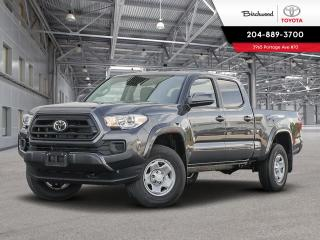 New 2020 Toyota Tacoma 4x4 Double Cab Auto for sale in Winnipeg, MB