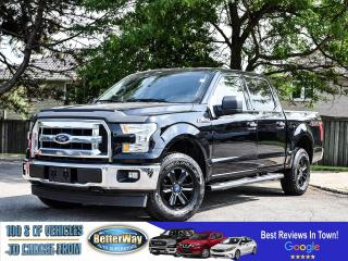 Used 2017 Ford F-150 XLT | Bu Cam | 6 Pass | Supercrew for sale in Stoney Creek, ON