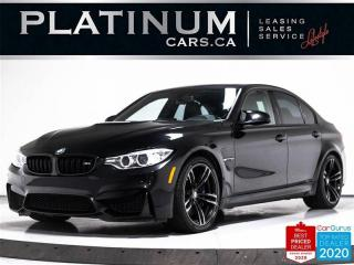 Used 2016 BMW M3 425HP, MANUAL, NAV, SPORTS EXHAUST, CARBON for sale in Toronto, ON