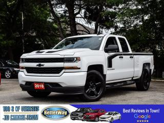 Used 2018 Chevrolet Silverado 1500 4x4 | Bu Cam | Apple/Android carplay | Blackout ed for sale in Stoney Creek, ON