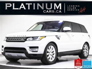Used 2016 Land Rover Range Rover Sport HSE Td6, DIESEL, NAV, PANO, CAM, HEATED SEATS for sale in Toronto, ON