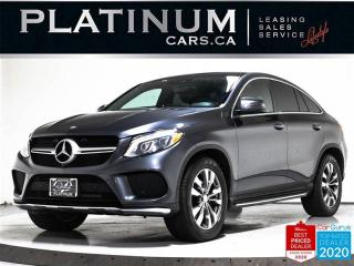 Used 2016 Mercedes-Benz GLE-Class GLE350d 4MATIC, COUPE, DIESEL, NAV, PANO, BLIND for sale in Toronto, ON