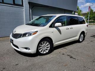 Used 2017 Toyota Sienna LIMITED 7 PASSENGER for sale in Richmond, BC