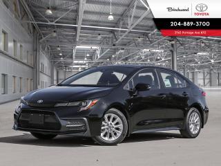 New 2020 Toyota Corolla SE STD PKG W/CARGO LINER for sale in Winnipeg, MB