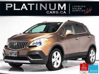 Used 2016 Buick Encore AWD, BLUETOOTH, ONSTAR, CLEAN CARFAX for sale in Toronto, ON