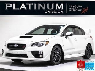 Used 2015 Subaru WRX STI Sport, 305HP, MANUAL, CAM, BLUETOOTH, DCCD for sale in Toronto, ON