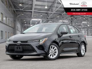 New 2020 Toyota Corolla LE STD PKG W/CARGO LINER for sale in Winnipeg, MB