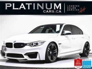 Used 2016 BMW M3 425HP, NAV, EXEC PKG, CARBON, HUD, CAM, HARMAN KAR for sale in Toronto, ON