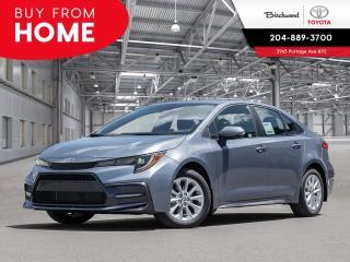 New 2020 Toyota Corolla SE SE CVT for sale in Winnipeg, MB