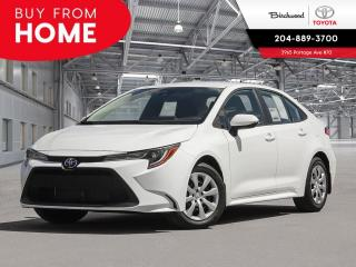 New 2020 Toyota Corolla LE CVT for sale in Winnipeg, MB