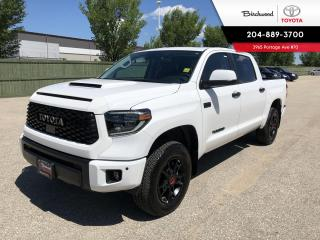 New 2020 Toyota Tundra 4x4 Crewmax TRD PRO for sale in Winnipeg, MB