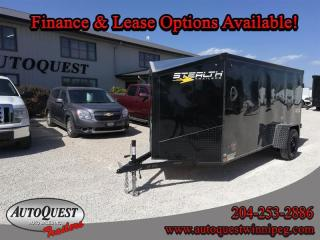 Used 2021 Stealth Cargo Trailer 5' x 12' V-Nose for sale in Winnipeg, MB