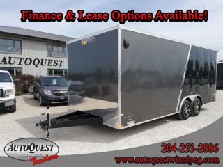 Used 2021 Stealth Cargo Trailer 8.5' x 20' Flat Front for sale in Winnipeg, MB